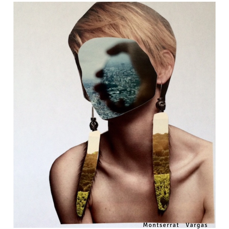 Montserrat Vargas - Collage - Las Nostalgiadas 9776