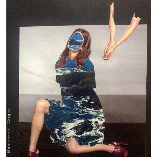 Montserrat Vargas - Collage - Las nostalgiadas v1