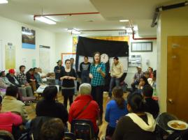 reka y Montse theater workshops