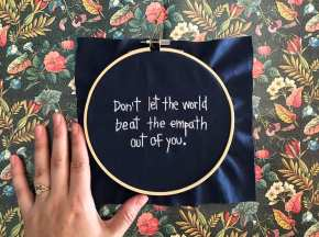don't let the world beat the empath out of you 1