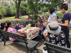 Montserrat Vargas Craftivist Workshop.10