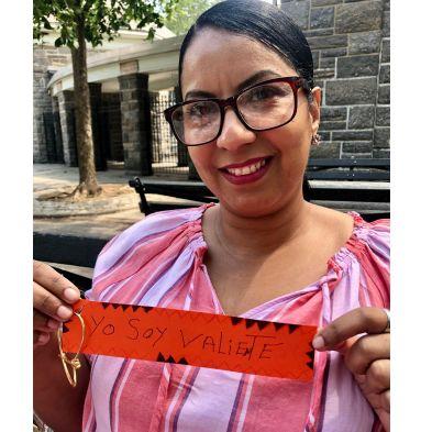 Montserrat Vargas - Craftivist Workshop.5