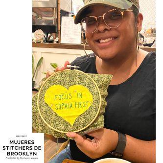 Mujeres Stitchers de Brooklyn. Dec. 2019. w