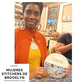 Mujeres Stitchers de Brooklyn. Dec. 2019. z