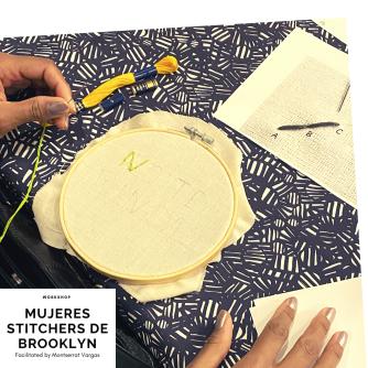Mujeres Stitchers de Brooklyn. January 2020. b