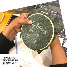 Mujeres Stitchers de Brooklyn. January 2020. d
