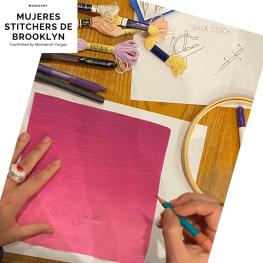 Mujeres Stitchers de Brooklyn. January 2020. h