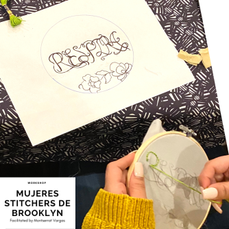 Mujeres Stitchers de Brooklyn. January 2020. i