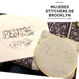 Mujeres Stitchers de Brooklyn. January 2020. j