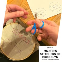 Mujeres Stitchers de Brooklyn. January 2020.f