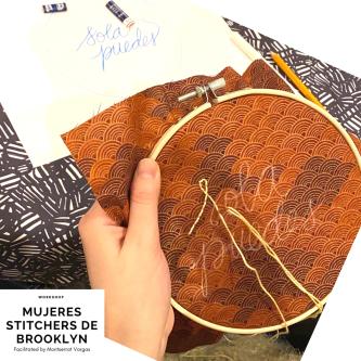 Mujeres Stitchers de Brooklyn. January. 2020. c